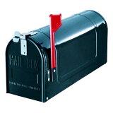 郵便ポスト スチールアメリカンポスト US-480(DG) ダークグリーンメタリック ※ポール別売 メールボックス 鍵なし