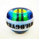 パワーボール オートスタート LED発光 カウンター機能 手首 握力 腕力 筋力 強化用 ストラップ...