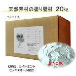 DIY リフォーム 壁 天然素材 珪藻土 日本製 漆喰より安心 自社製造 ベーシック1箱タイプ OW5-ライトミント 送料無料