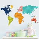 世界地図 アジア