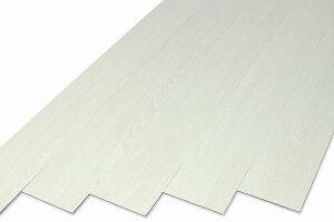 シールを貼る感覚で床の張替が簡単にできます貼るだけ簡単フローリング スタイリッシュホワイト