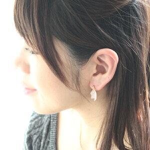【新色追加】花びら一粒ピアス/イヤリング【日本製】