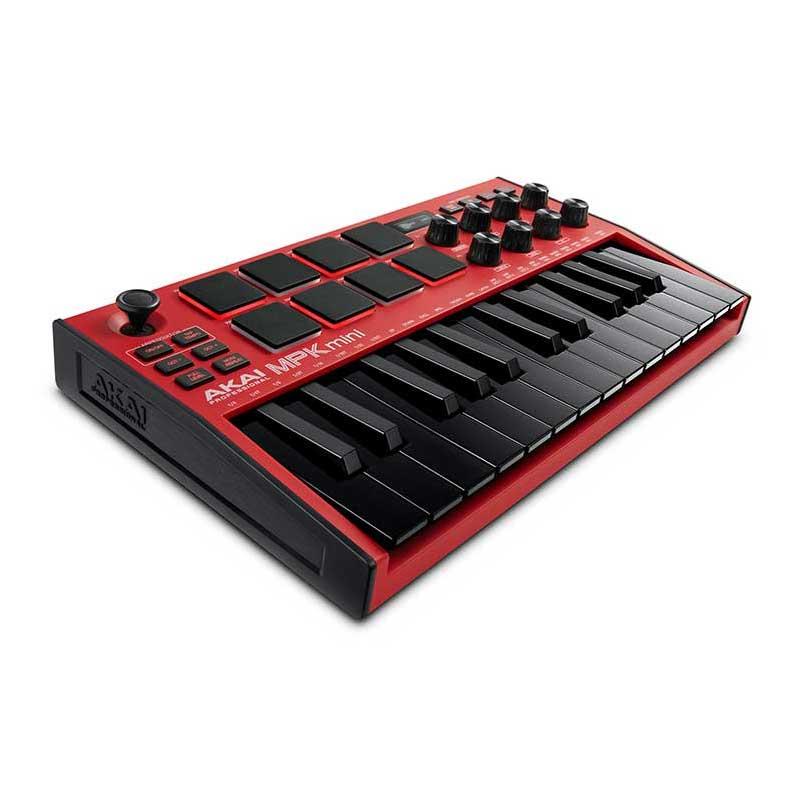 DJ機器, その他 AKAI MPK mini mk3 Red