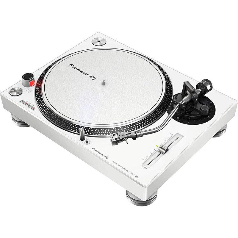 DJ機器, ターンテーブル Pioneer DJ PLX-500-W