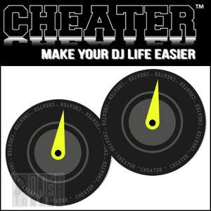 バイナルコントロールPCDJのための便利グッズ!CHEATER DJCUE-001 【djtrend】