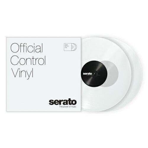 Serato Control Vinyl Performance Series [CLEAR]【2枚セット】