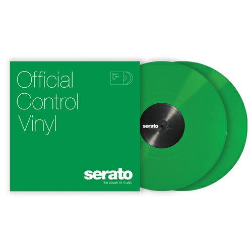 Serato Control Vinyl Performance Series [GREEN]【2枚セット】