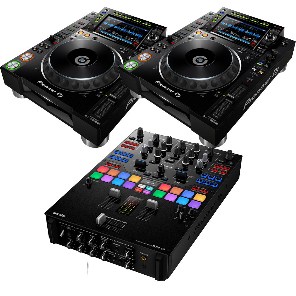 DJ機器, CDJプレイヤー Pioneer DJ CDJ-2000NXS2DJM-S9EXFORM RCA