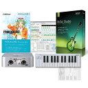 DTM初心者セットVOCALOID 3 スターターパック 『目指せボカロP!!』 台数限定!超お買い得な「歌わせてみた」制作入門セット! 大人気VOCALOID3 Megpoid シリーズと、ループを並べてカンタン作曲、ビギナーに人気のDAWソフト『SONY /ACID MUSIC STUDIO 8』と、USB2.0接続に対応したコンパクトオーディオ・インターフェイスと、ベロシティ対応のコンパクト25鍵MIDIコントローラーのセット!