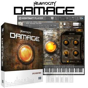 鋭いエレクトロニクスサウンドとメタリックサウンドの融合音源Native Instruments DAMAGE