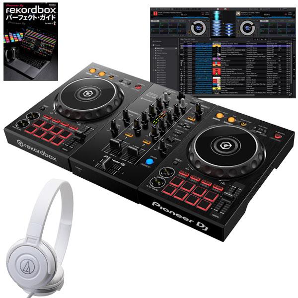 DJ機器, セット Pioneer DJ DDJ-400 ATH-S100WH rekordbox DJ