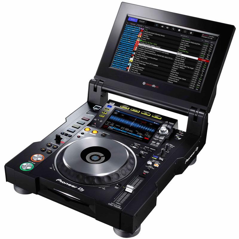 DJ機器, CDJプレーヤー Pioneer DJ CDJ-TOUR1
