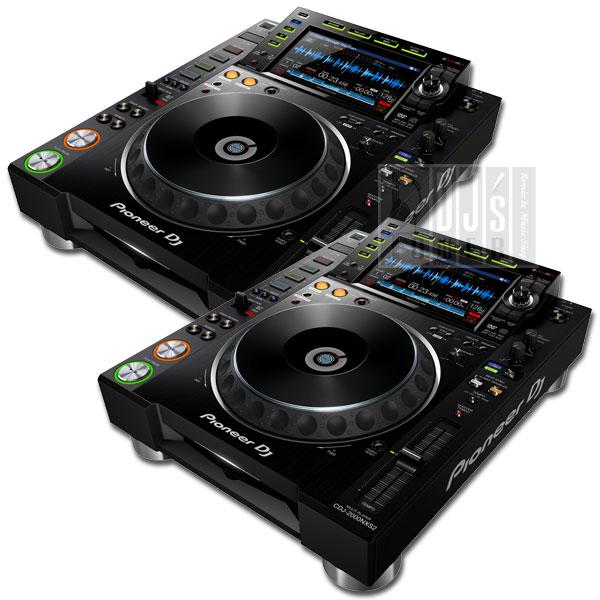 DJ機器, CDJプレイヤー 4Pioneer DJ CDJ-2000 NXS2 TWIN SET
