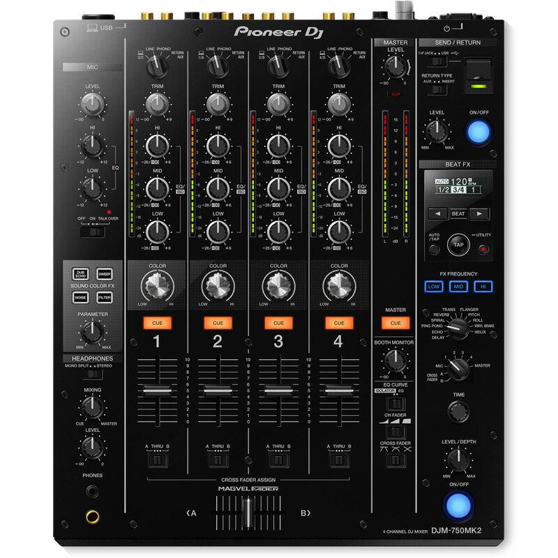 DJ機器, DJミキサー Pioneer DJDJM-750MK2 EXFORM USB1