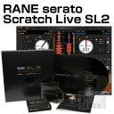 【限定特価】【ご購入特典あり!】 RANE serato (セラート) SCRATCH LIVE SL2 【送料・代引手数...