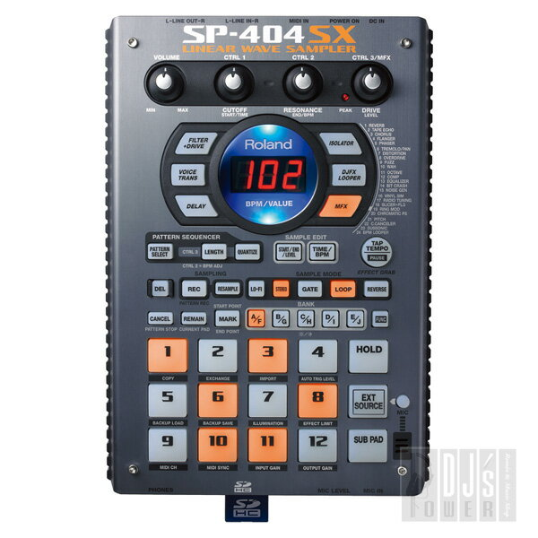 DAW・DTM・レコーダー, サンプラー Roland SP-404SX SD16GB P10