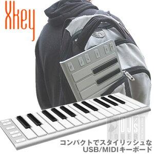 スタイリッシュなUSB/MIDIキーボードXKey