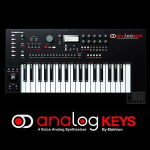 シンセサイザーElektron Analog Keys 【予約商品・1月下旬〜2月頃入荷予定】