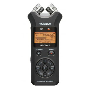 24bit/96kHz対応リニアPCMレコーダー【送料無料】 TASCAM DR-07 MK2