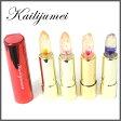 【送料無料】Kailijumei カイリジュメイ リップスティック 3.8g 【並行輸入品】マジックカラー オイルリップ Magic color Oil lip Flower フラワー 金粉入り あす楽 (ミラー付きケース)