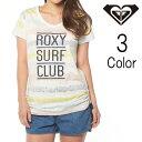 Roxy / ロキシーロング丈裾シャーリング半袖Tシャツ / レディース 【返品・交換不可】