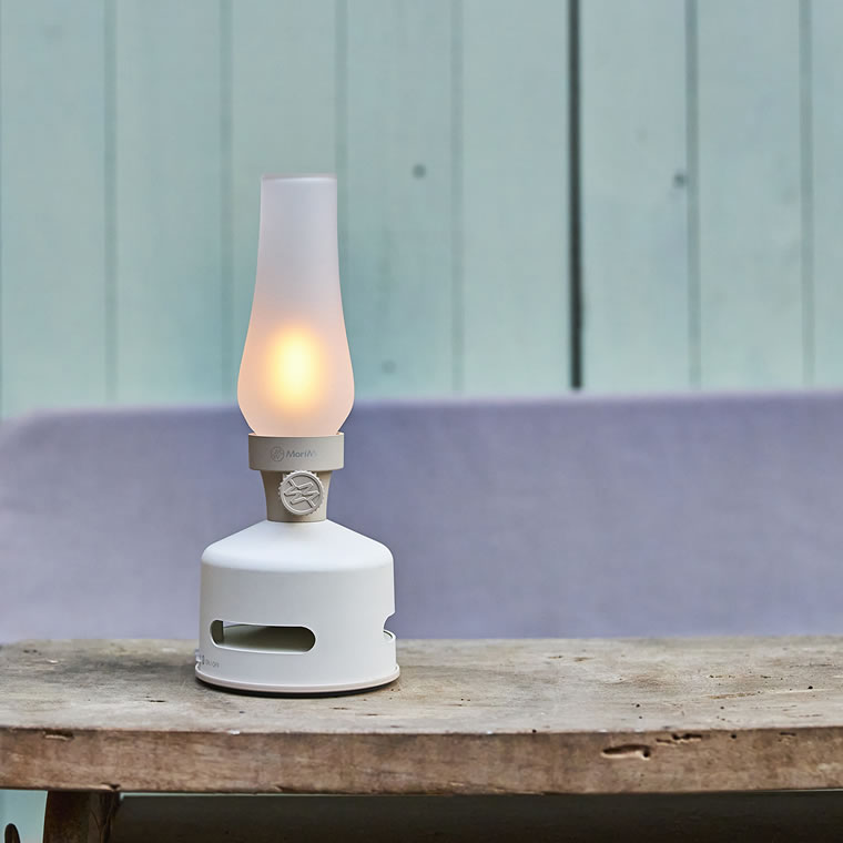 LED ランタンスピーカー S BEACH HOUSE (ホワイト色)
