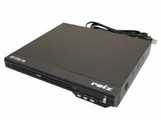 【在庫あり】Wizz(ウィズ)コンパクトサイズDVD/CDプレーヤー据置型再生専用簡単操作 RV-SW100
