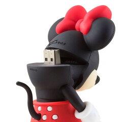 【お取り寄せ】Bone(ボーン)Disney(ディズニー)ライセンス商品ミニーデュアル8GBメモリー|DR14031-8BK