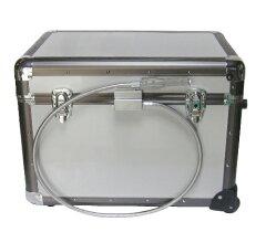 【お取り寄せ】Outin(オーティン)宅配ボックス荷物当番アルミ製BOXトローリーケースタイプ|T・X-I