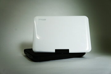 【在庫あり】外装箱キズあり特価!(本体は新品です)Wizz(ウィズ)10.1インチポータブルDVDプレーヤーDV-PW1040+ブルーライトカット液晶保護フィルム|DVPW104BCF