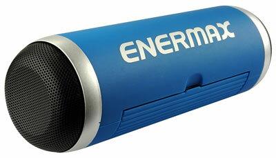 【お取り寄せ】ENERMAX(エナーマックス)ポータブルBluetoothスピーカーブラック軽量コンパクト|EAS01-BK,EAS01-BL,EAS01-R