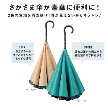 デラックス さかさ傘◆イベント・ギフト・景品・贈答品・粗品・ノベルティ・名入れ・のし包装は激安卸の当店へ