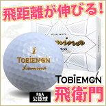 リーダーメディアテクノ_リーダーメディアテクノ公認球TOBIEMON飛衛門パールボールホワイト(FGDLMN-WD)