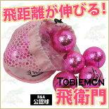 リーダーメディアテクノ飛衛門メッシュバックメタルボール(ピンク)(T-MMP)