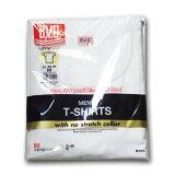 【BVD】丸首半袖TシャツG013TS ホワイトサイズ/M・L
