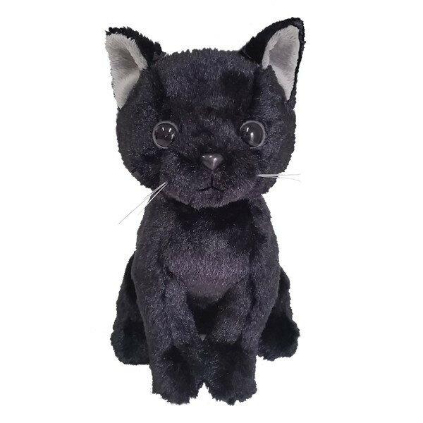 猫のぬいぐるみ プレミアムキティ クロネコ猫雑貨 猫グッズ【猫雑貨】【リアルでかわいいネコ ぬいぐるみ 黒猫】