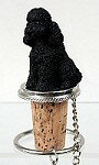 產品詳細資料,日本Yahoo代標|日本代購|日本批發-ibuy99|ボトルストッパー・ドッグ【プードル・ブラック】輸入雑貨 犬雑貨 犬グッズ 【RCP】【楽ギフ_包装…