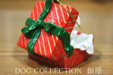 【ゴールデン・レトリーバー】ギフトボックス・オーナメント/レッドBOX輸入雑貨・犬グッズ・犬雑貨・クリスマス 【RCP】【楽ギフ_包装選択】