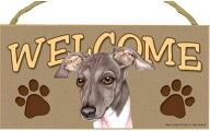 ウェルカムボード【イタリアン・グレーハウンド】輸入雑貨・犬雑貨・犬グッズ【楽ギフ_包装選択】