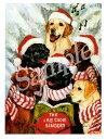 クリスマスカード Ruth【ラブラドール jingle be...