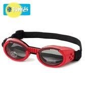 【Doggles (ドグルス)】Shiny Red Frame/Smoke Lens (ILS犬用ゴーグル/レッド)【あす楽対応】