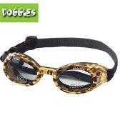 【Doggles (ドグルス)】New Leopard Print Frame ILS (ILS犬用ゴーグル/ヒョウ柄) 【あす楽対応】