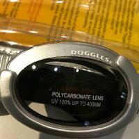 【Doggles(ドグルス)】SilverILSDoggles(ILS2犬用ゴーグル/シルバー/クリアレンズ)【RSL】