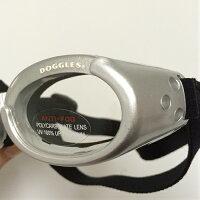 【Doggles(ドグルス)】SilverILSDoggles(ILS犬用ゴーグル/シルバー/クリアレンズ)【YDKG-k】【W3】【あす楽対応】