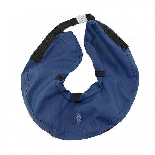 【TRIXIE】プロテクティブ カラー インフレータブル MLサイズ ブルー(空気を入れるタイプのエリザベスカラー)