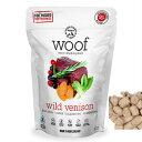 【NewZealand Natural PetFood】WOOF Venison フリーズドライドッグフード ワイルドベニソン1.2kg(犬用総合栄養食)【RSL】