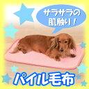 [エントリーでポイント5倍!4/22 23:59まで]《通常価格の半額!》パイル毛布PPM-600ピンク・空...
