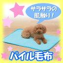 [エントリーでポイント5倍!4/22 23:59まで]パイル毛布PPM-800ピンク・空色[クール用品・ひんや...