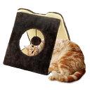 どこでもツメとぎ 三角トンネル猫 ねこ 爪とぎ つめとぎ みがき おもちゃ マルカン Pet館 ペット館 楽天 【TC】