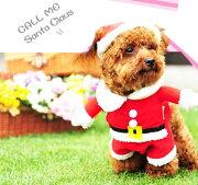 サンタクロース コスプレ クリスマス ハロウィン フリース ドッグウェア